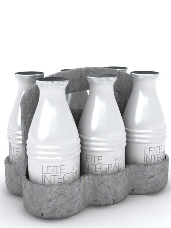 Baita Design aluminum milk pack #ad #advertising #packaging