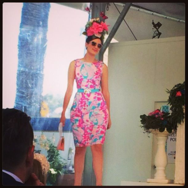 Caulfield Cup fashions on the field