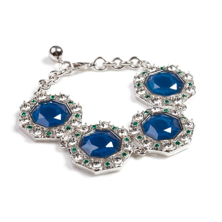 Lolu Rhoda Capri Blue Octarine Bracelet