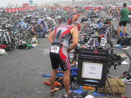 Triathletes have tried a lot of things to keep the transition area from being a time suck. Here are three ideas to make sure your time in transition is as minimal as possible.