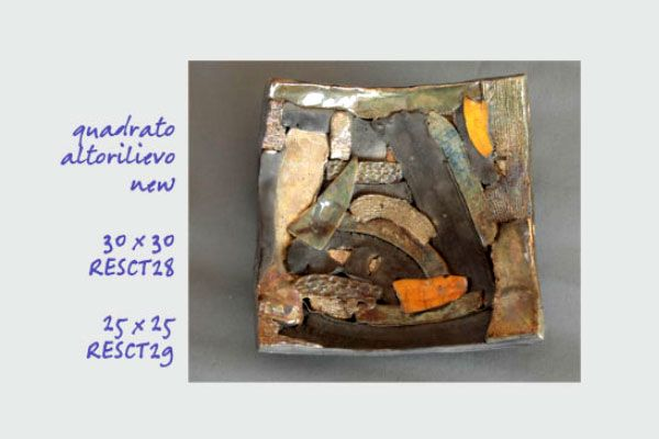 Centro tavola e svuota tasche Oggetti d'arredo Res ceramica Vendita prodotti equo solidali biologici e artigianali