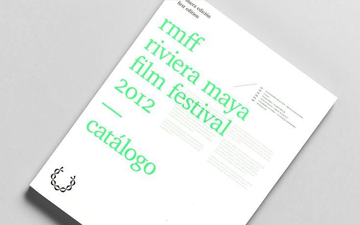 RMFF — Riviera Maya Film Festival  Event Branding — Anagrama