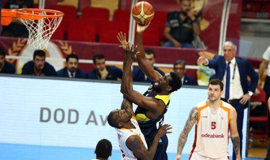 Galatasaray'ı 82-75 yenen Fenerbahçe finalde