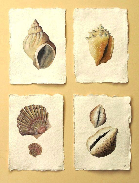 Original watercolour illustration painting sea by SeasideStudiosUK, £30.00