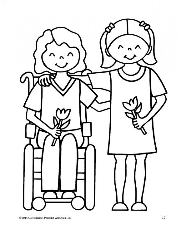 This Mom Created Coloring Books That Feature Kids With Disabilities