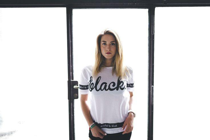 The power of total confidence.  http://www.footshop.eu/en/209-damske-tricka  #clean #style #zebra #simplicity #edgy #style #girl #tee #boyfriend #tshirt