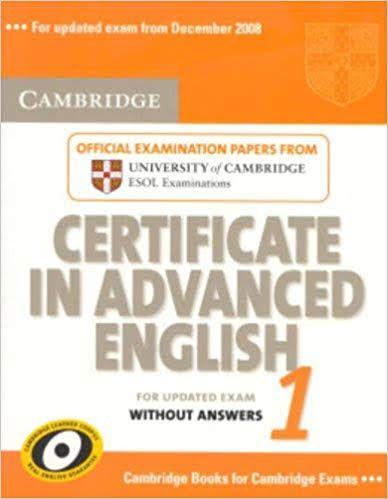 PDF+2CD] Cambridge Certificate in Advanced English 1 with