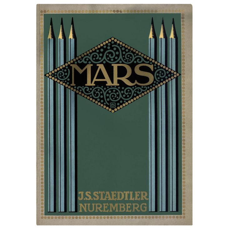 The #Mars brand is a registered trademark since 1900 #STAEDTLER