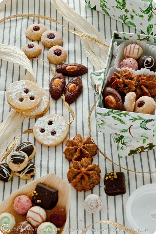 German Christmas cookies 2010 by Meeta K. Wolff