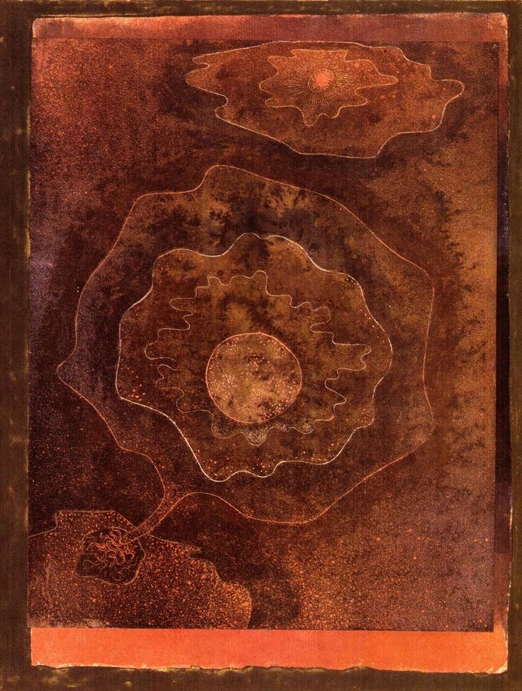 Paul Klee ~ Etrange vegetal, 1929