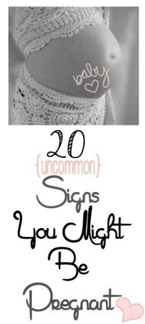 Pregnancy Signs and Symptoms you may not have heard about! #pregnancy #motherhood