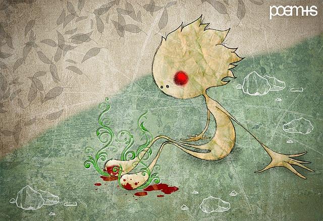 Piececitos · Gabriela Mistral by graphic.cl, via Flickr