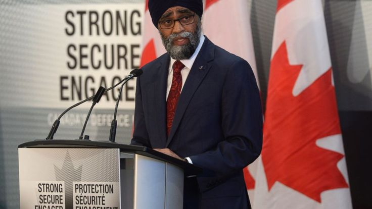 Canada's defense chief announced Wednesday the country plans a sharp increase in military spending following pressure from the Trump administration to increase spending.  Defense Minister Harjit Sajjan said the budget will grow by 70 percent to reach $32.7 billion Canadian ($24.1... - #Canada, #Increase, #Military, #Percent, #Spending, #TopStories