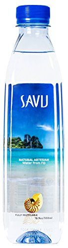Savu Natural Artesian Water from Fiji (16.9 fl oz bottles, case of 24) ** Find out more at the image link.