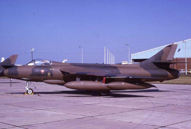 Rhodesian Air Force Hawker Hunter. Memories