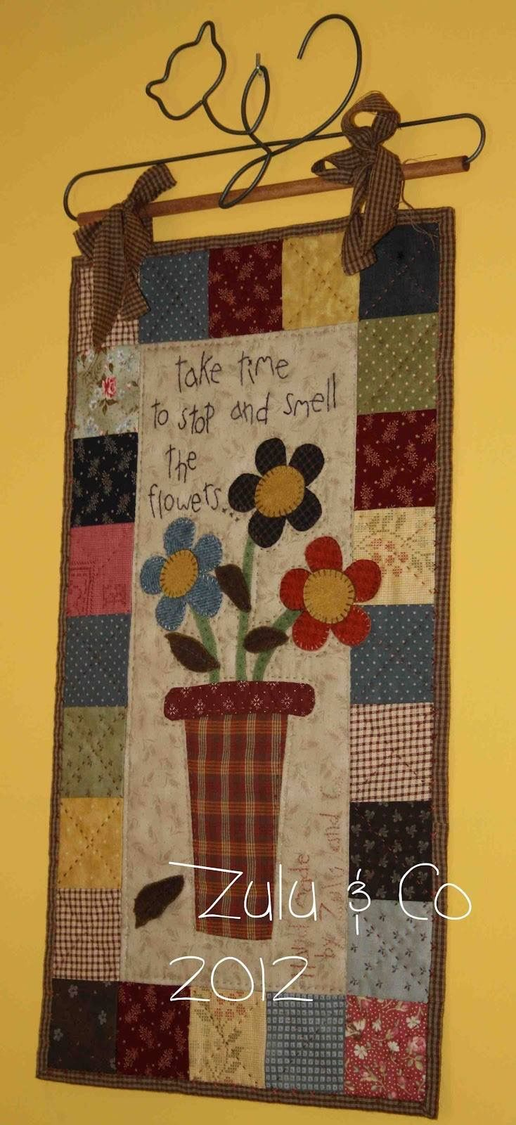 Flowers in a Vase Quilt