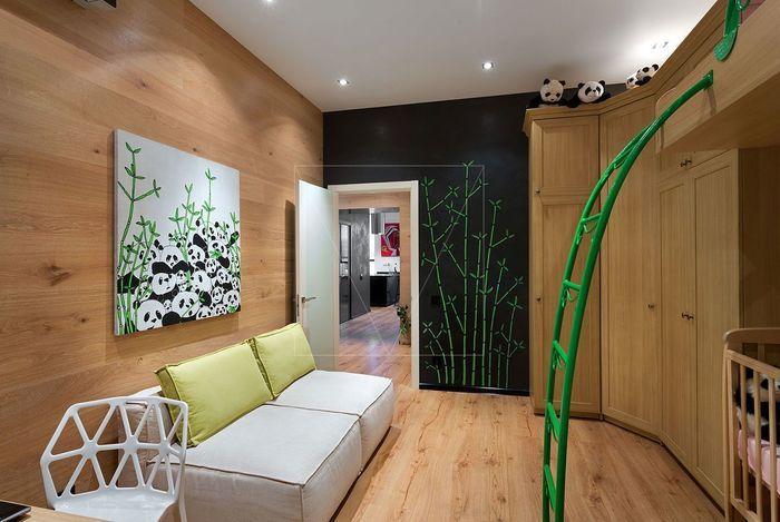 Современная квартира в здании бывшего киевского общежития, 80 м² – Красивые квартиры
