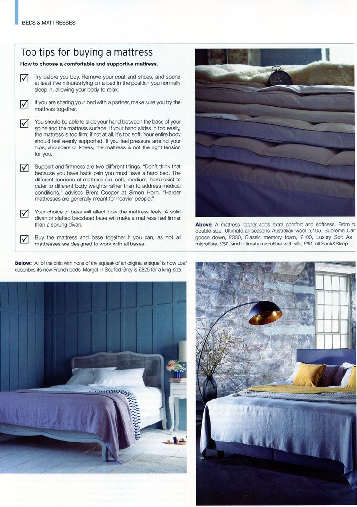 A little tip from Brent Cooper, managing director of Simon Horn, on buying a new mattress. http://simonhorn.com/ Kitchens Bedrooms & Bathrooms February 2016