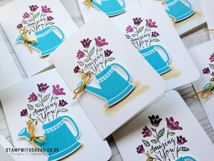 Sarah Berry Stampin' Up! UK Independent Demonstrator   Stamping with the Grown with Love Bundle by Stampin' Up! Yay! Today I get to show you a brand new bundle which came out in the Sta…