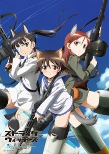 Strike Witches - I liked this anime, but three things really annoyed me: 1. lack of pants. 2. emphasis on girls squeezing boobs of other girls 3. No explanation on the magic 9why do the girls get tails  ears when using magic, and why does the magic fade for some at age 20 but the girl's mom and grandma still use it fine?)