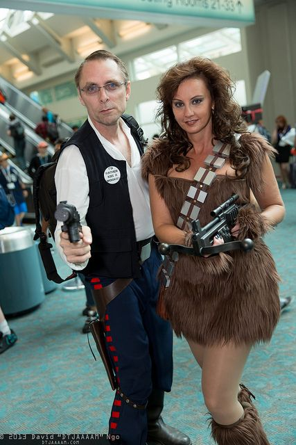 Han Solo and Chewbacca | SDCC 2013
