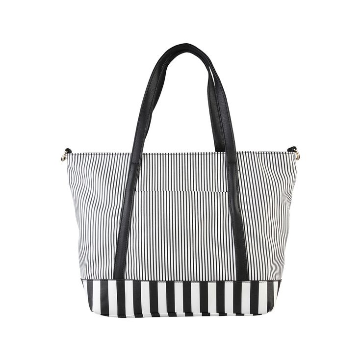 Pierre Cardin – AB33_774315 –  Shopping bag has synthetic material, double handle, zip fastening, removable shoulder strap. Inside it, one zip pocket, two inside pocket. It is of size:  45*31*12 cm. https://fashiondose24.com