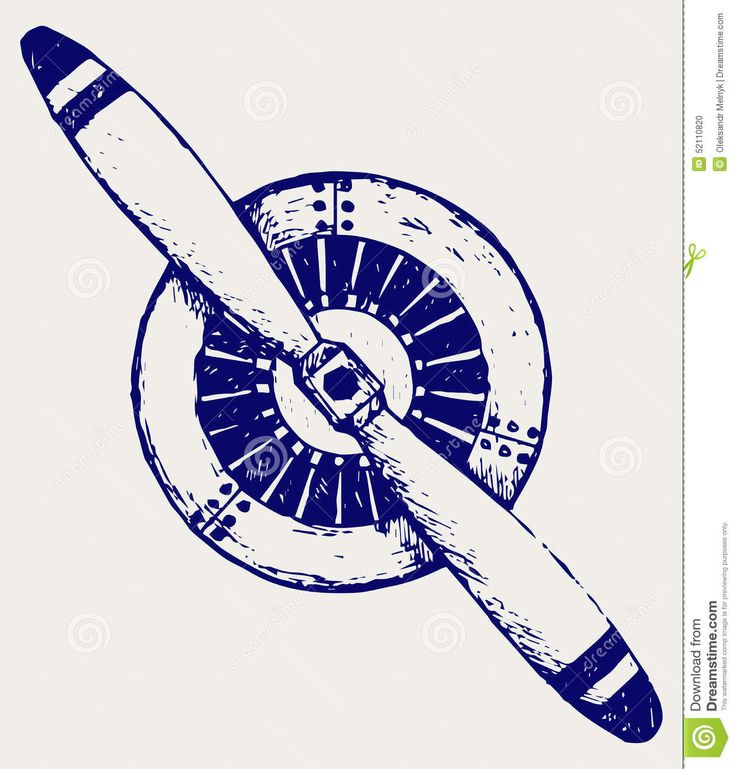 airplane propeller engine drawing - Google Search