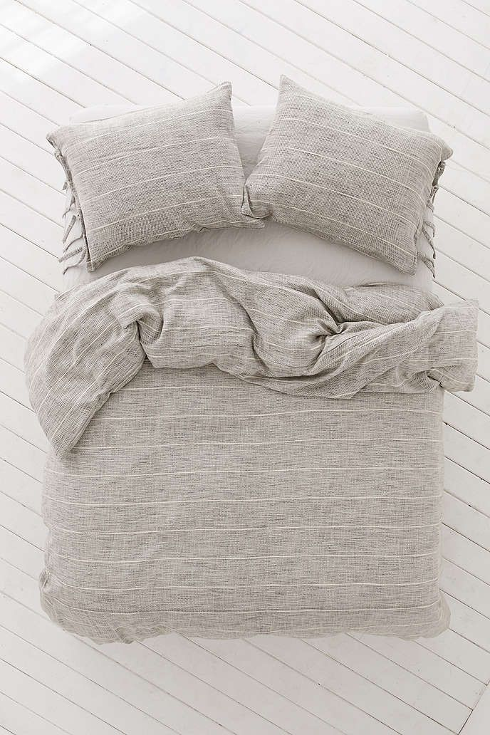 Nikko Marled Tie Duvet Cover - Urban Outfitters