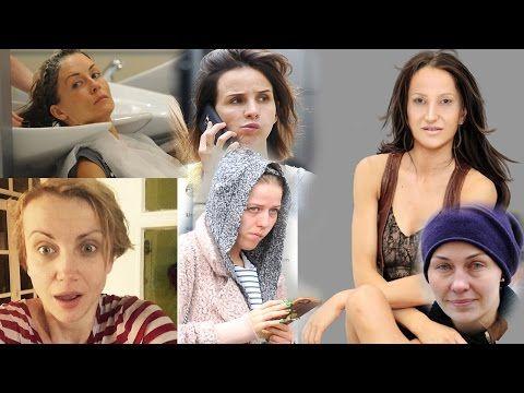 Polskie celebrytki bez makijazu 2 - YouTube