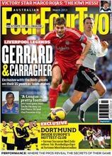 Australian Four Four Two.    Australia's only soccer magazine.