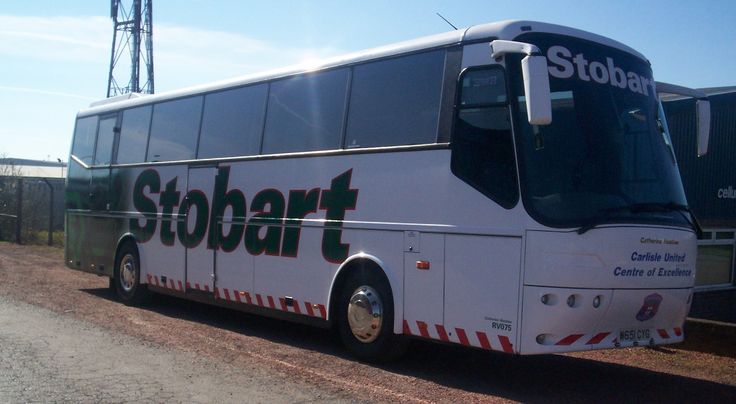 #TBT #Throwbackthursday Today we have the Eddie Stobart Coach! Catherine Heather - W651 CYG - RV075  #Stobart #Coach #Bus #Travel #Carlisle #Excellence #CarlisleUnited #Throwback #EddieStobart