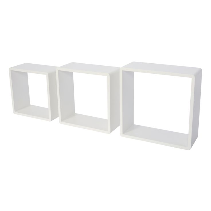 Form White Cube Shelf (L)301mm (D)301mm, Pack of 3 - Best 25+ White Cube Shelves Ideas On Pinterest Ikea Cube Shelves