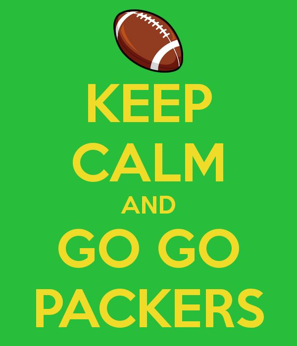 'KEEP CALM AND GO GO PACKERS' Poster