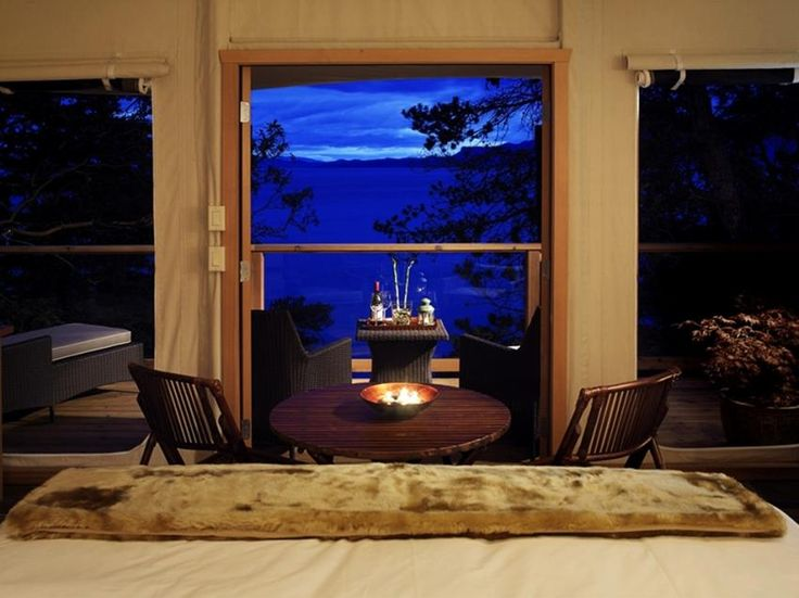 Glamping with a view to die for!