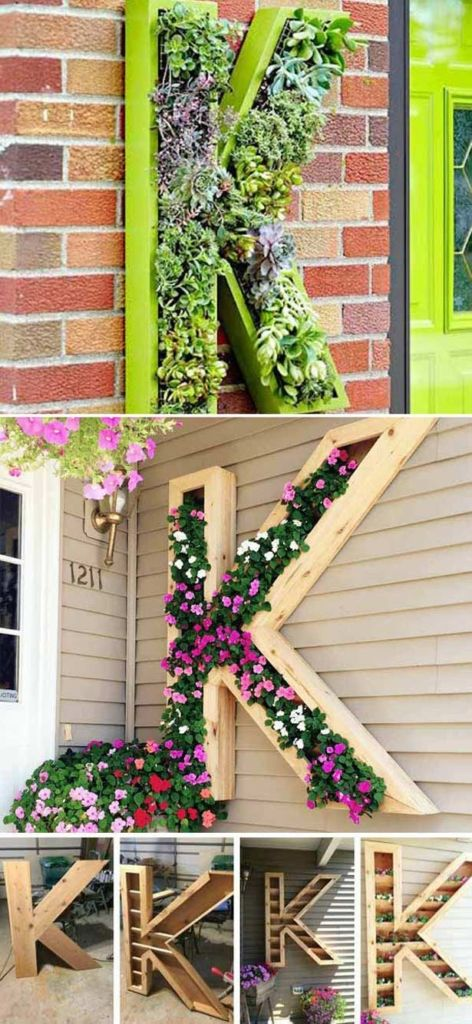 12 Wonderful DIY Planter Ideas for Your Front Porch