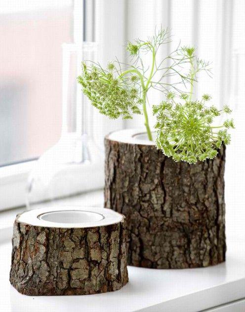 Необработанное дерево в интерьере ( ФОТО ) - IQInterior