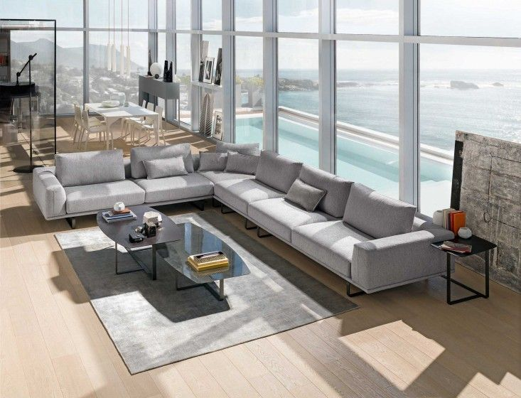 Designer sofa – Tempo | Italian modern furniture from Natuzzi Italia