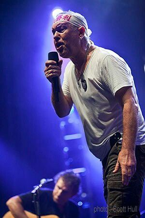 Jimmy Barnes from Cold Chisel