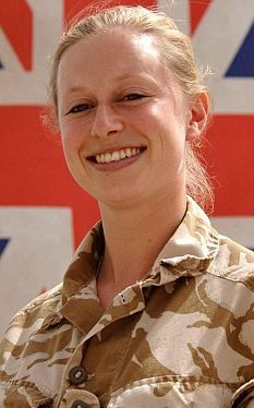 Corporal Sarah Bryant was the first female soldier to be killed in Afghanistan.  Thank you, Corporal, for your supreme sacrifice!