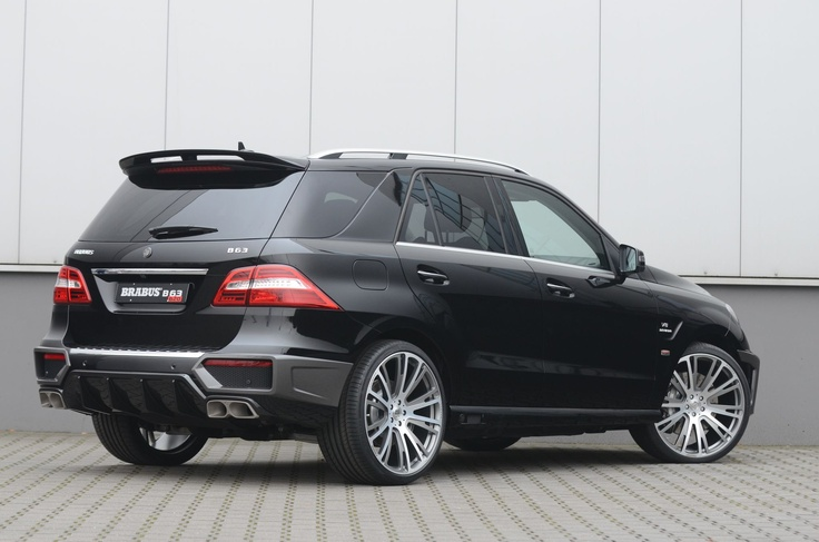Mercedes-Benz ML 63 AMG by #BRABUS #mbhess #mbcars #mbtuning
