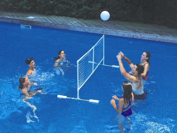 Best 25 outdoor volleyball net ideas on pinterest - Pool volleyball ...