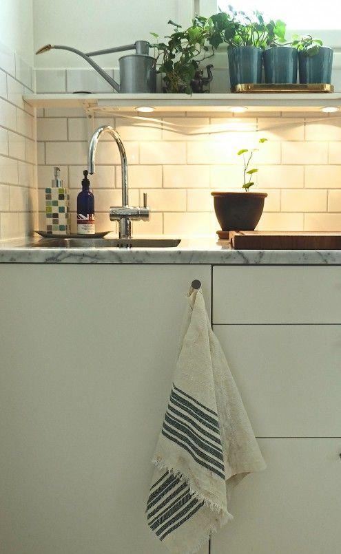 Tea towel Samuji Koti / Keittiöpyyhe Samuji Koti