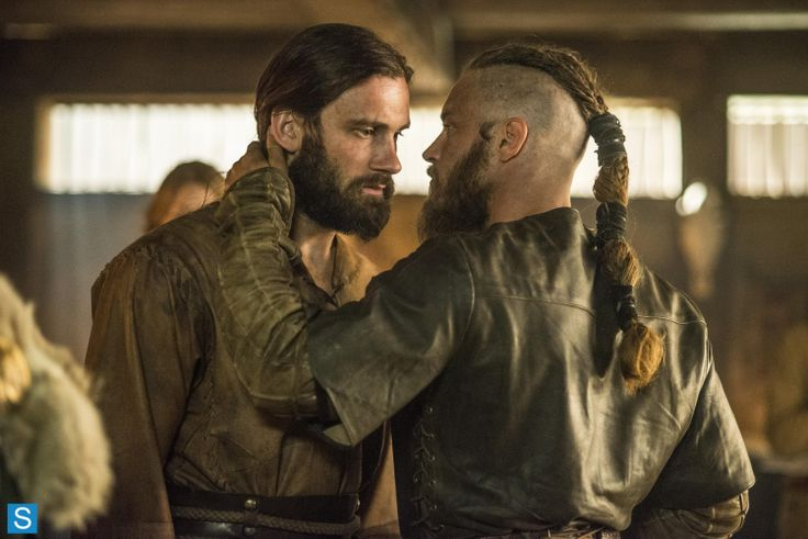 Ragnar & Rollo -- Vikings - S2 EP2 - Invasion --- February feels so close and yet so far! Hurry the hell up. lol