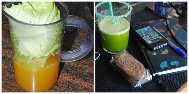 Green smoothie!!  #repice #healthy #blog http://sarahloops.blogspot.com.es/2013/06/batido-verde-green-smoothie.html