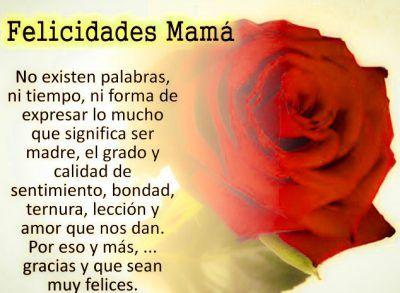 frases lindas para una madre en su dia