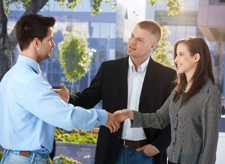 How to Start a Conversation  http://www.candacesmithetiquette.com/how-to-start-a-conversation.html