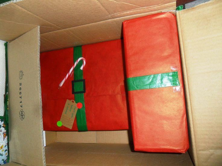 Liebevoll verpackte Päckchen. Der helle Wahnsinn!