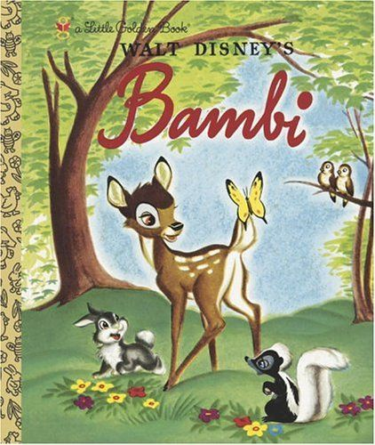 Yes, you too can rebuild your library of Little Golden Books. Bambi is not in my collection.