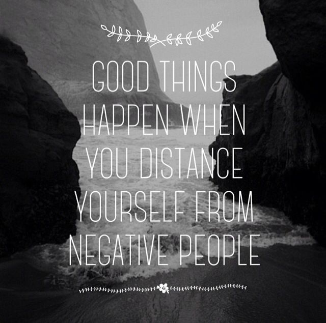 Free Yourself From Negative People Quote: Distance Yourself Quotes. QuotesGram