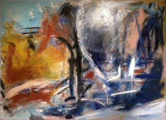 Abstract Associative Painting: Becker Beste by EchteBeckerArtworks